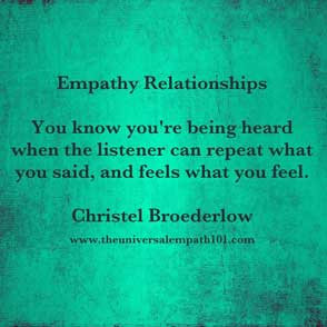 Empathy Being Heard
