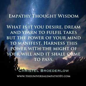 Empathy Desire Dream Power