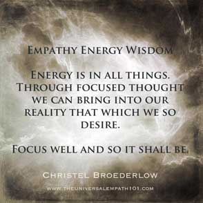 Empathy Energy Focus