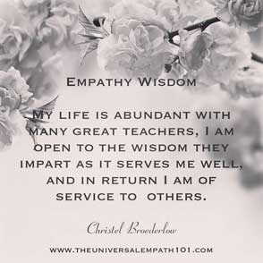 Service of Empathy