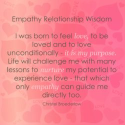 Empathy Quote Loves Purpose