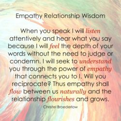 Empathy Quote Listen Feel Understand